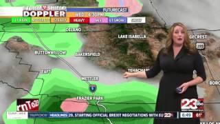Kern County Storm Shield Forecast 3/21/17