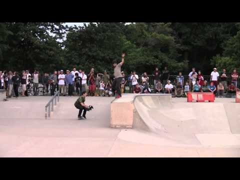 Chris Cole: Cold War Tour (Zero Demo) at Wilson Skatepark 2013-08-08