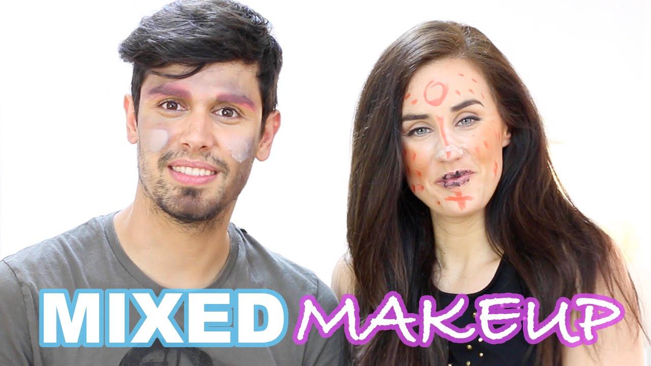 Mixed makeup challenge