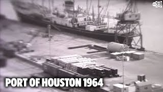 Here's what the Port of Houston looked like in 1964