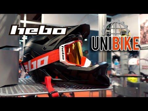 UNIBIKE 2017 - HEBO: casco con mentonera desmontable, ropa con protección y bicis de trial Clean