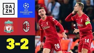 Verrücktes Spiel erinnert an Finale '05: Liverpool - AC Mailand 3:2 | UEFA Champions League | DAZN