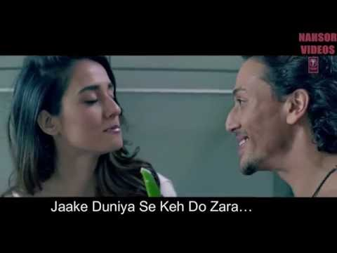 Befikra - [ Lyrical VIDEO SONG ] ft. Tiger Shroff, Disha Patani