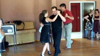 preview picture of video 'Atelier Tango OCA Bonneville : En attendant Claudio'