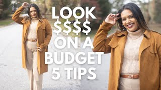 How to Look Expensive on a Budget - 5 Easy Tips for 2021| PLUS SIZE FASHION