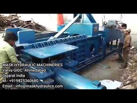 Triple Action Scrap Baling Machine Jumbo