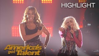 Bebe Rexha And Glennis Grace Perform Surprising Duet - America's Got Talent 2018