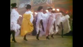 Moulin Rouge 1952 Film CanCan Dance HD