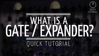 What is an Expander / Gate? (Quick Tutorial)