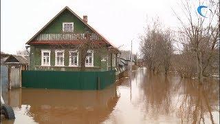 Ситуация с наводнением в Новгородской области стабилизировалась