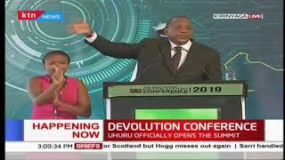 Uhuru's Speech at 6th Devolution Conference in Kirinyaga