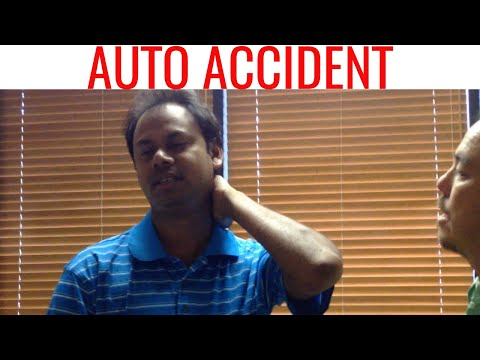 Video WHIPLASH treated with CHIROPRACTIC. Important AUTO ACCIDENT video.
