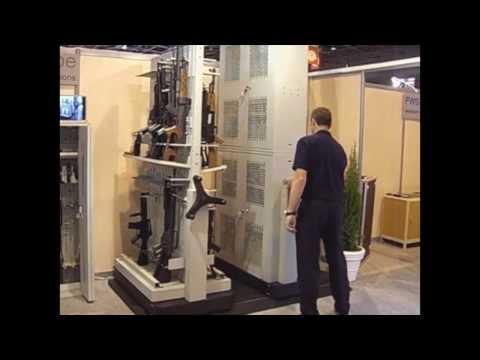 Armários para Armazenamento de Armas | OFC Arquivos e DASCO