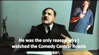 Hitler just informed about Greg Giraldo's Death