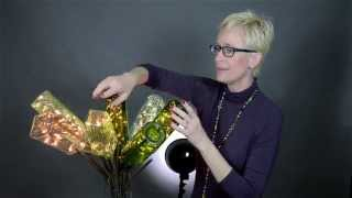 DIY Crafts: Wine Bottle Lights And A Bottle Tree