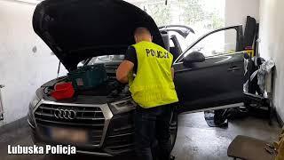 Wideo1: Policjanci odzyskali auto warte blisko 200 tysięcy