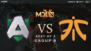 Fnatic vs Alliance Game 1 (Bo3) | MDL Chengdu Major Group Stage