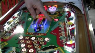 #476 Gottlieb PINBALL POOL Pinball Machine And Drop Target Feature! TNT Amusements