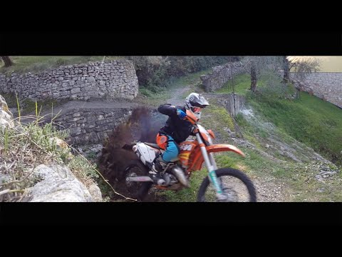 KTM exc 125 Factory Enduro - GoPro HD