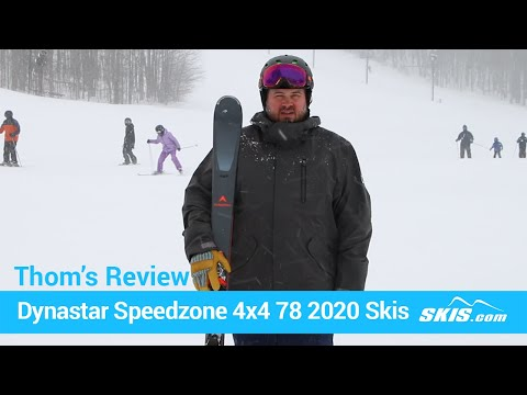 Video: Dynastar Speedzone 4X4 78 Skis 2020 20 40