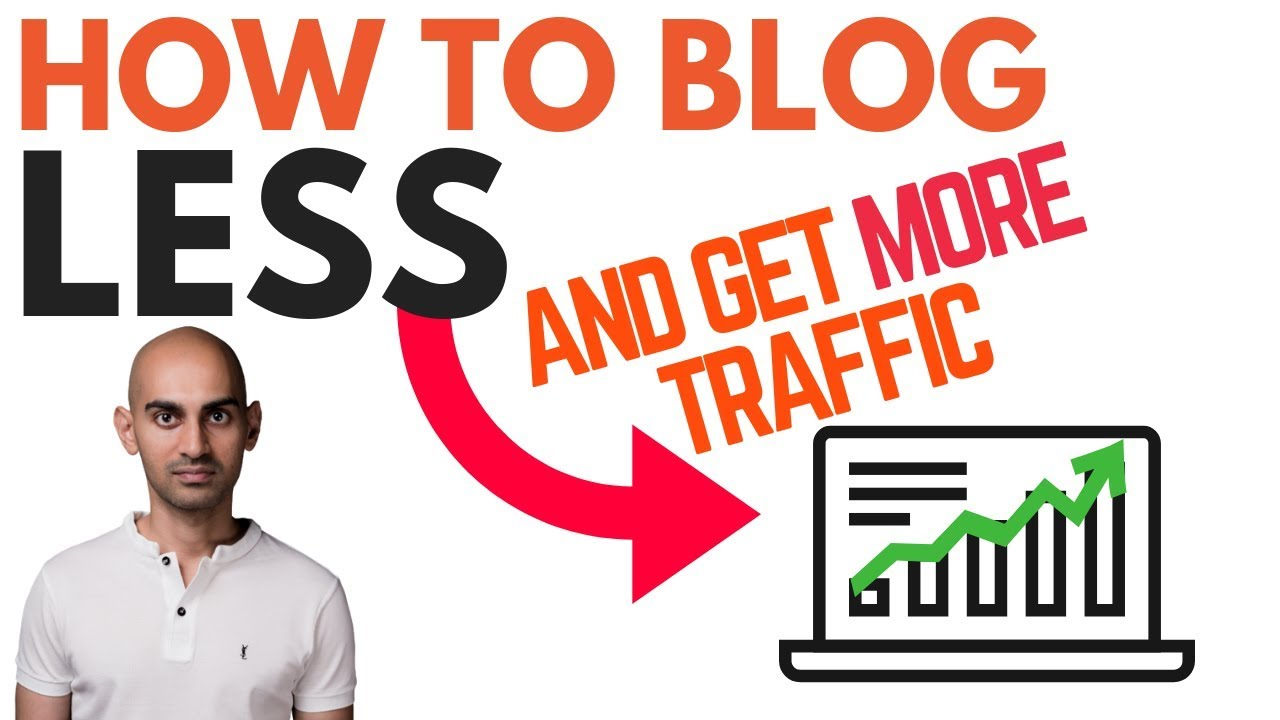 How to Get More Traffic by Blogging Less