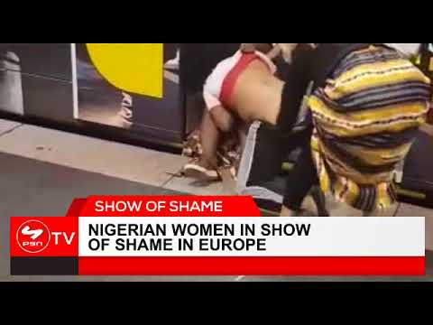 VIDEO: Disgraceful Nigerian Women in Vicious Street Fights In Europe