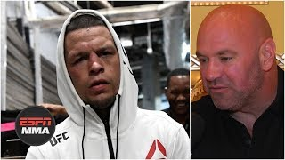 Nate Diaz vs. Jorge Masvidal is a done deal for UFC 244 - Dana White | ESPN MMA