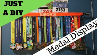 Just An Easy DIY Medal Display For $15