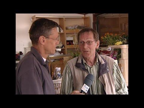 """""""Uit de oude doos"""" Bloemenhandelaar Simon Bel stopt. - RTV GO! Omroep Gemeente Oldambt"""