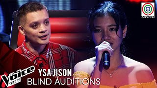 Ysa Jison - Isa Pang Araw   Blind Audition   The Voice Teens Philippines 2020