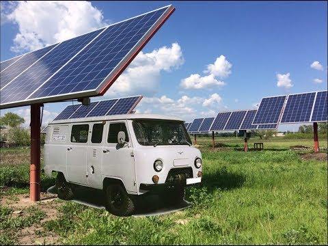 Солнечная электростанция - регистрация инвертора