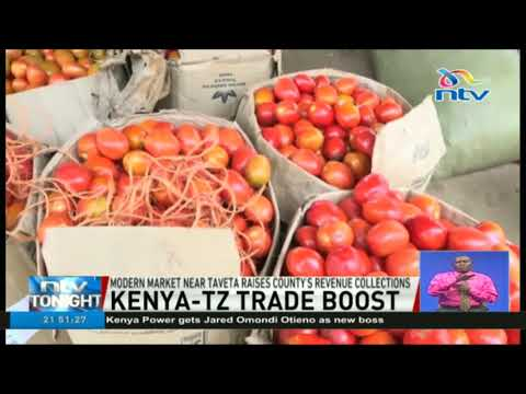 Modern market at Taveta-Tanzania border raises county's revenue collections