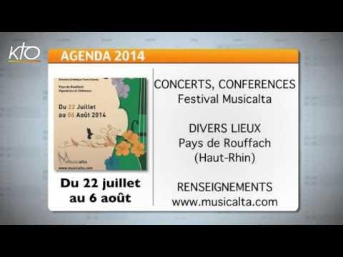 Agenda du 18 juillet 2014