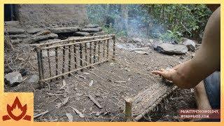 Primitive Technology: Woven bark fiber