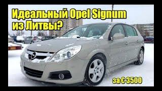 Детальный осмотр авто из Литвы. Opel Signum - почему не купили?