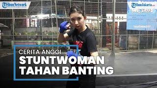 Mendengar Pengalaman Anggi, Stuntwoman di Industri Film Tanah Air: Sang Penantang Adegan Bahaya