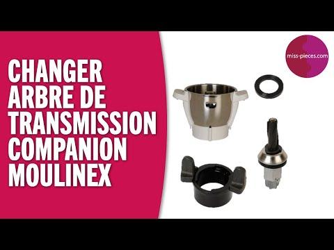 Comment changer l'arbre de transmission du bol Companion Moulinex