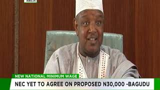 NEC yet to decide on N30,000 minimum wage