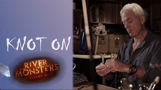 How To Tie A Blood Knot (Knot On) - River Monsters