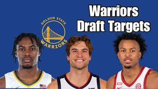 Who should the Golden State Warriors draft with the 7th and 14th picks?