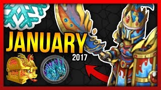 Knights and Dragons - JANUARY 2017 LEAKS!! Special Chests, Eternal Shadowforged, Pets & more!!