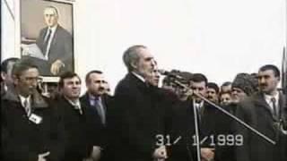 Prezidentin çıxışı Müsavat Gənclər Təşkilatı