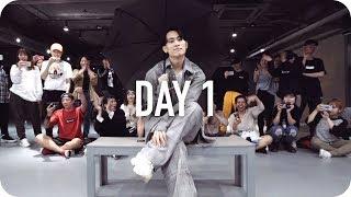 Day 1 ◑   HONNE  Eunho Kim Choreography