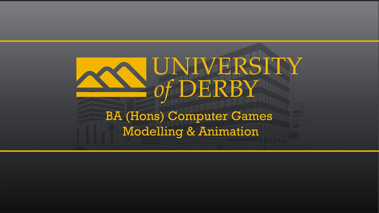 The BA (Hons) Computer Games Modelling and Animation 2016 Show reel