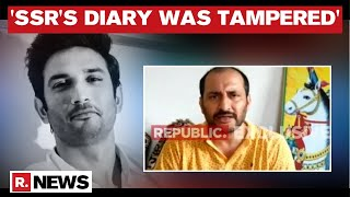 Sushant Cousin Makes Massive Allegation: Diary Was Tampered By Mumbai Police