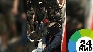 Причиной аварии в римском метро назвали прыжок фанатов ЦСКА на эскалатор - МИР 24