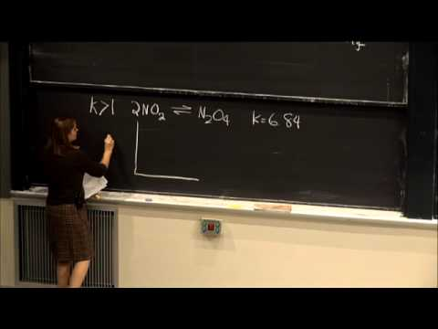 Lecture 19: Chemical Equilibrium | Video Lectures