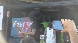 Every Time I Die - Thirst / Underwater Bimbos from Outer Space - Live 6-14-14 Vans Warped Tour 2014