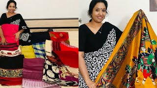 My Saree Collection ( Part 1 ) // Most requested video