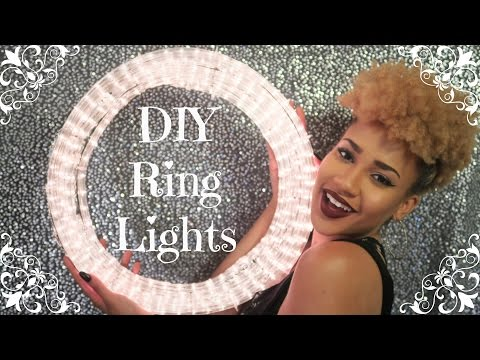 HOW TO: TWO CHEAP & EASY DIY RING LIGHTS (Under $25)
